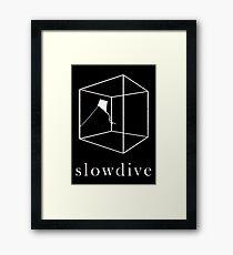 Slowdive Framed Print