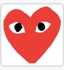 Comme Des Garcons Logo Sticker