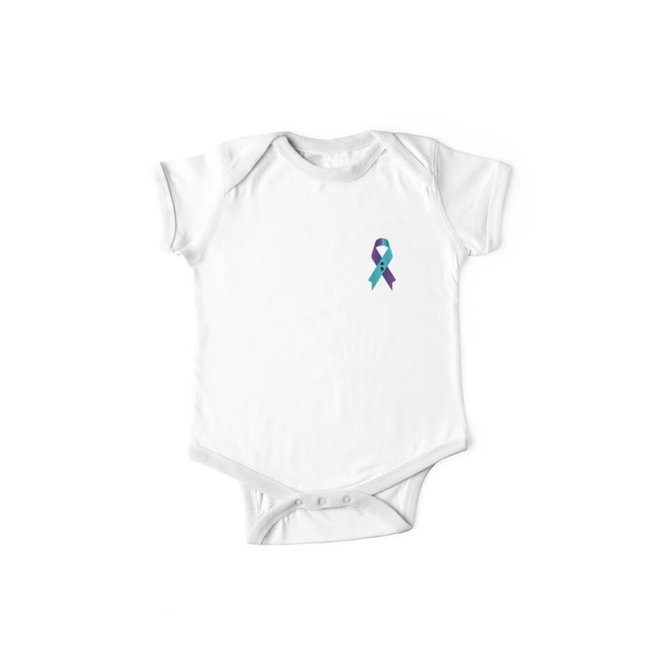 Semicolon Suicide Awarenessprevention Ribbon For Color Shirt