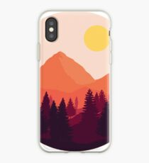 Forest Mountain Horizon iPhone Case