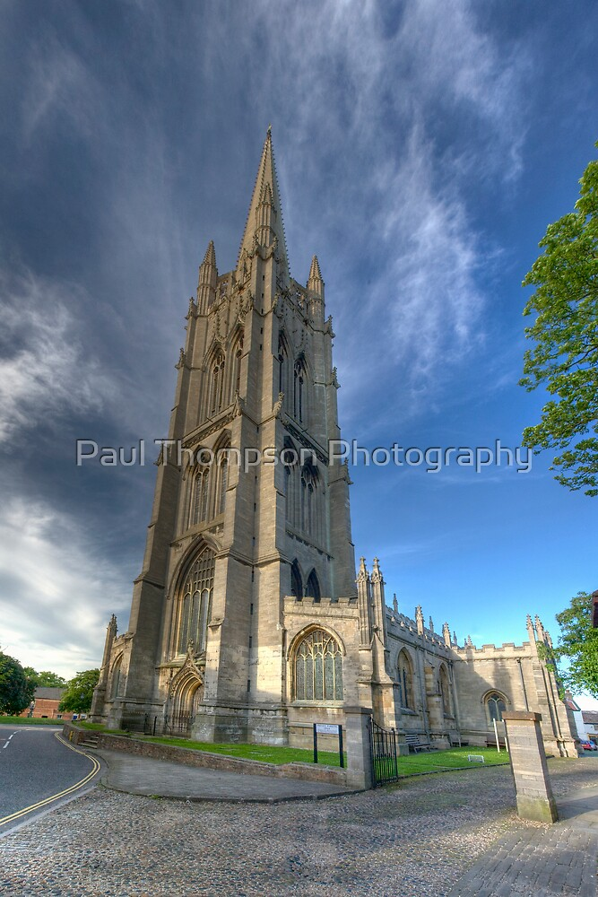 Louth Church by Paul Thompson Photography