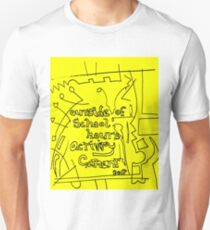 Outside of school hours activity garment - Yellow T-Shirt
