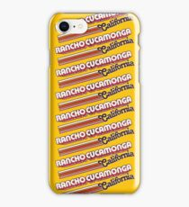 Rancho Cucamonga, CA | City Stripes iPhone Case/Skin