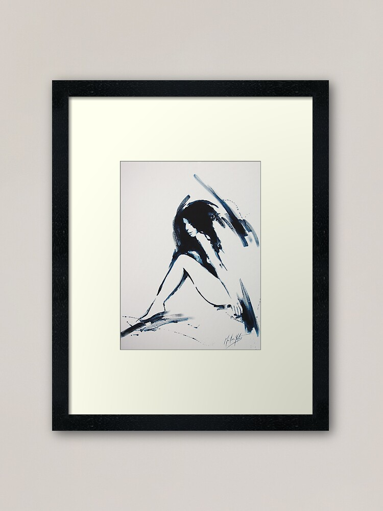 Alternate view of A Brief Touch Framed Art Print