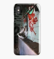 abandoned toilet iPhone Case/Skin