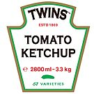 TWINS Tomato Ketchup by TWINS™ Magazine