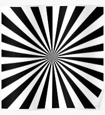 black rays Poster