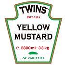 TWINS Yellow Mustard by TWINS™ Magazine