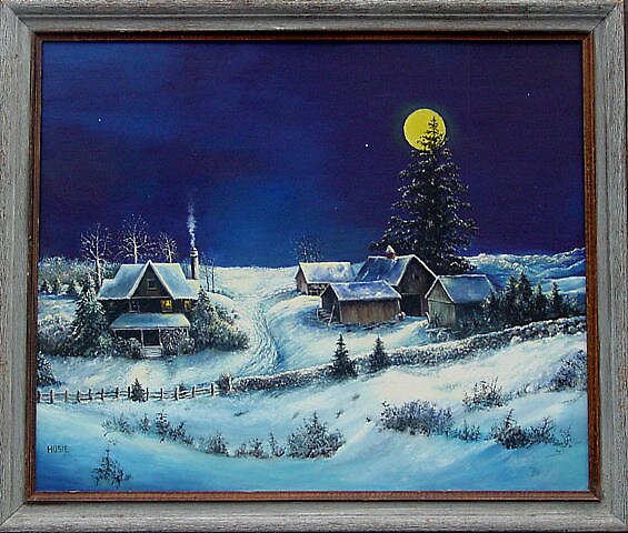 WINTER MOON by William Hosie