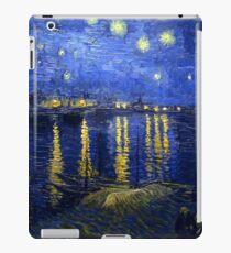 Starry Night Rhone iPad Case/Skin