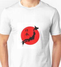 Japanese Flag Unisex T-Shirt
