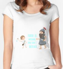 David y Goliath.  Women's Fitted Scoop T-Shirt