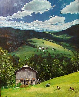 WEST VIRGINIA FARM by William Hosie