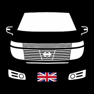 Elgrand E51 Dark with Union Jack by Elgrandesigns