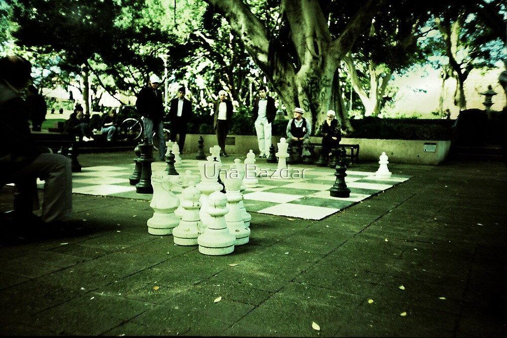 Street Chess by Una Bazdar