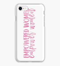 Empowered Women, Empower Women iPhone Case/Skin