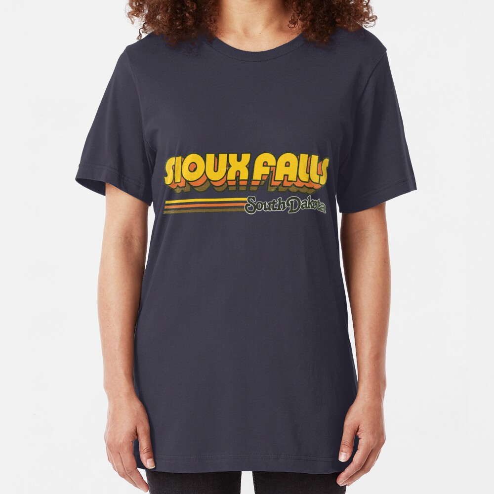 Sioux Falls, SD   City Stripes Slim Fit T-Shirt