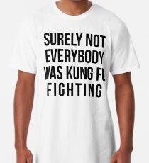 Sicherlich waren nicht alle Kung Fu-Kämpfer Longshirt