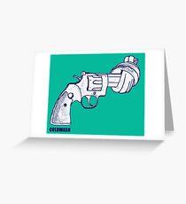 NO WEAPONS NO GUNS Greeting Card