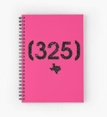 Area Code 325 Texas Spiral Notebook