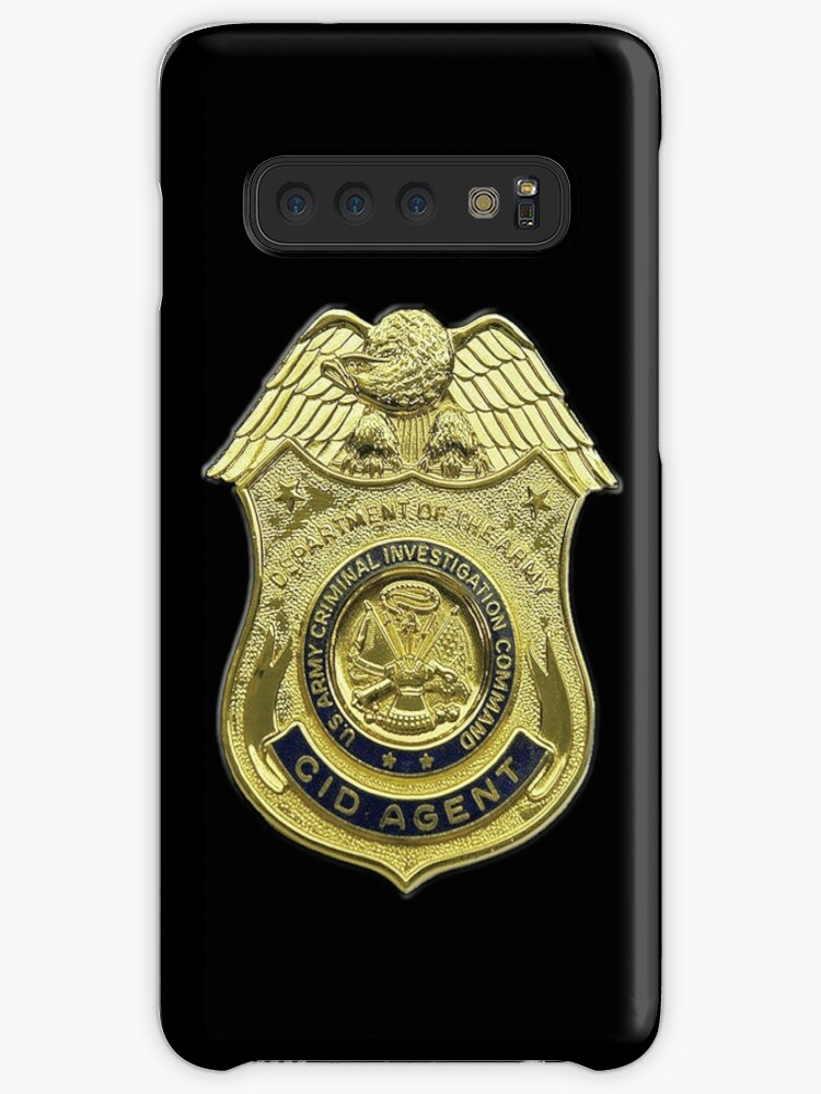 'AMERICAN, US, USA, Army, Criminal Investigation Command, CID, Agent,  Military Badge' Case/Skin for Samsung Galaxy by TOM HILL - Designer