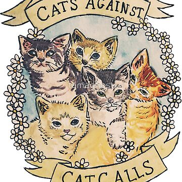 Cats Against Catcalls by indieguo