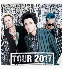 Revolution Radio Green Day Tour 2017 Poster