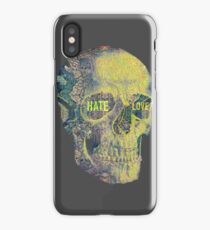 Hate and Love iPhone Case/Skin