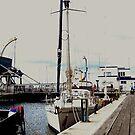 Hobart Harbour by Una Bazdar