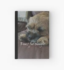 Border Terrier Gifts for Dog Lovers Paws for Thought Hardcover Journal