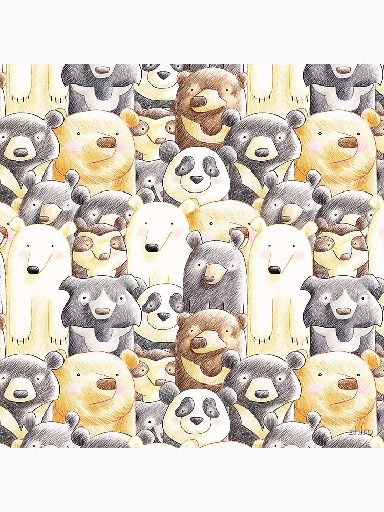 It's a Family of Bears - Family Portrait by shiro