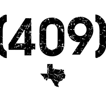 Area Code 409 Texas by BearSquared