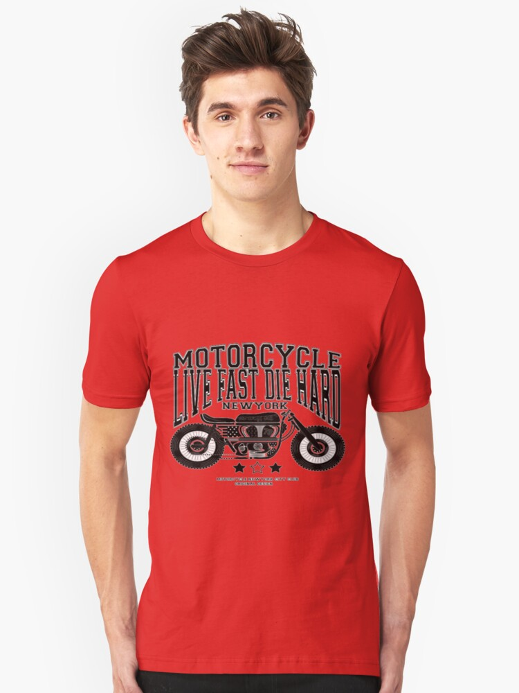 MOTORCYCLE Unisex T-Shirt Front