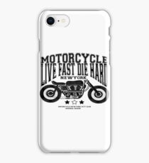 MOTORCYCLE t-shirt  iPhone Case/Skin