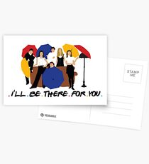 I'll Be There For You - Umbrellas Postcards