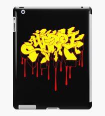 Yarri Graffiti - Aboriginal Flag Colours d iPad Case/Skin