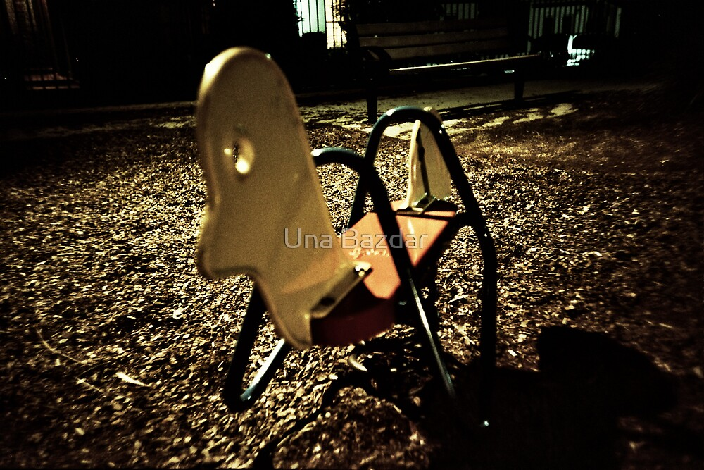 the rocking horse came out to play by Una Bazdar