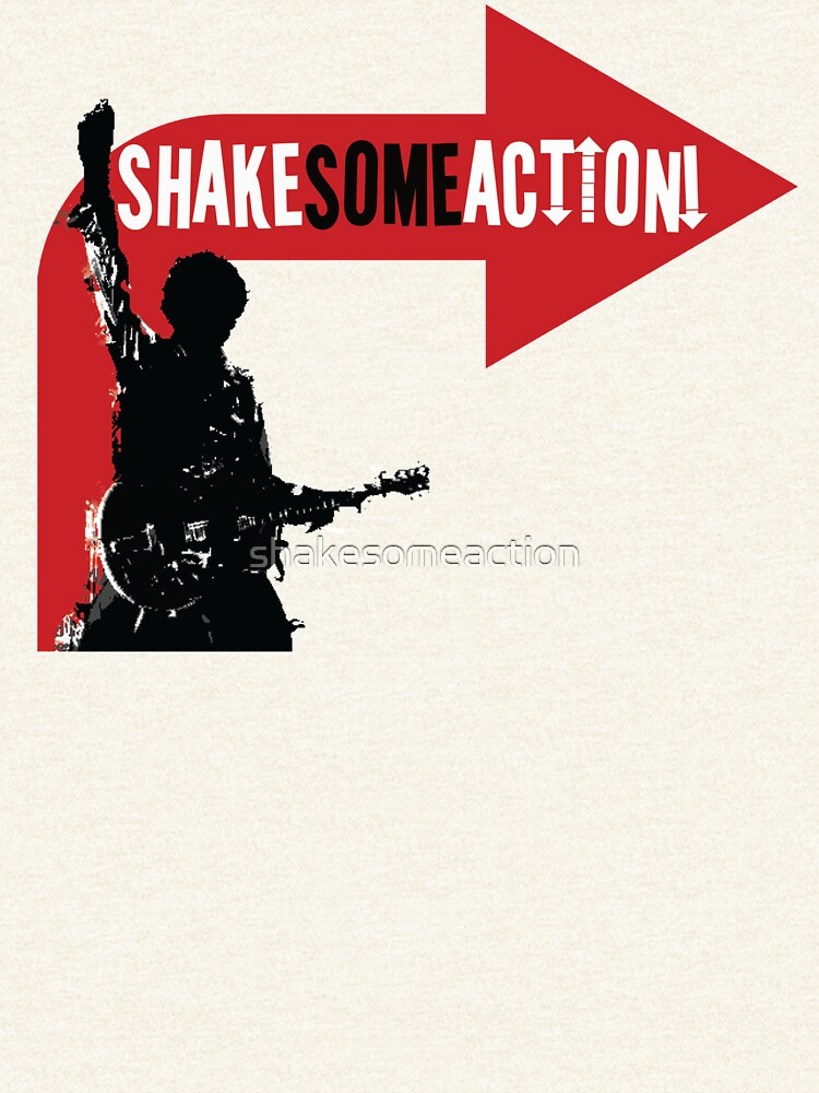 Shake Some Action! official merchandise by shakesomeaction