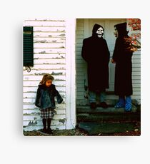 Brand New - The Devil And God Are Raging Inside Of Me Canvas Print