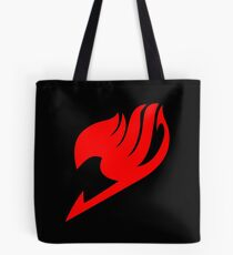 Fairy Tail - Guild Emblem (Pocket/Black) Tote Bag