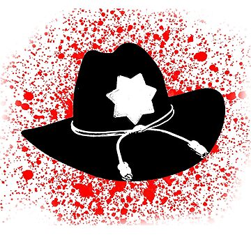 Carl Grimes Hat by timscrivello