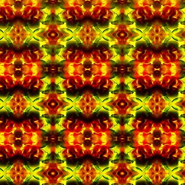 Yellow and red nightmare by Pacoredbubble