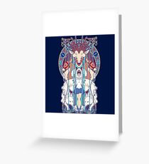 Forest Fighter Greeting Card