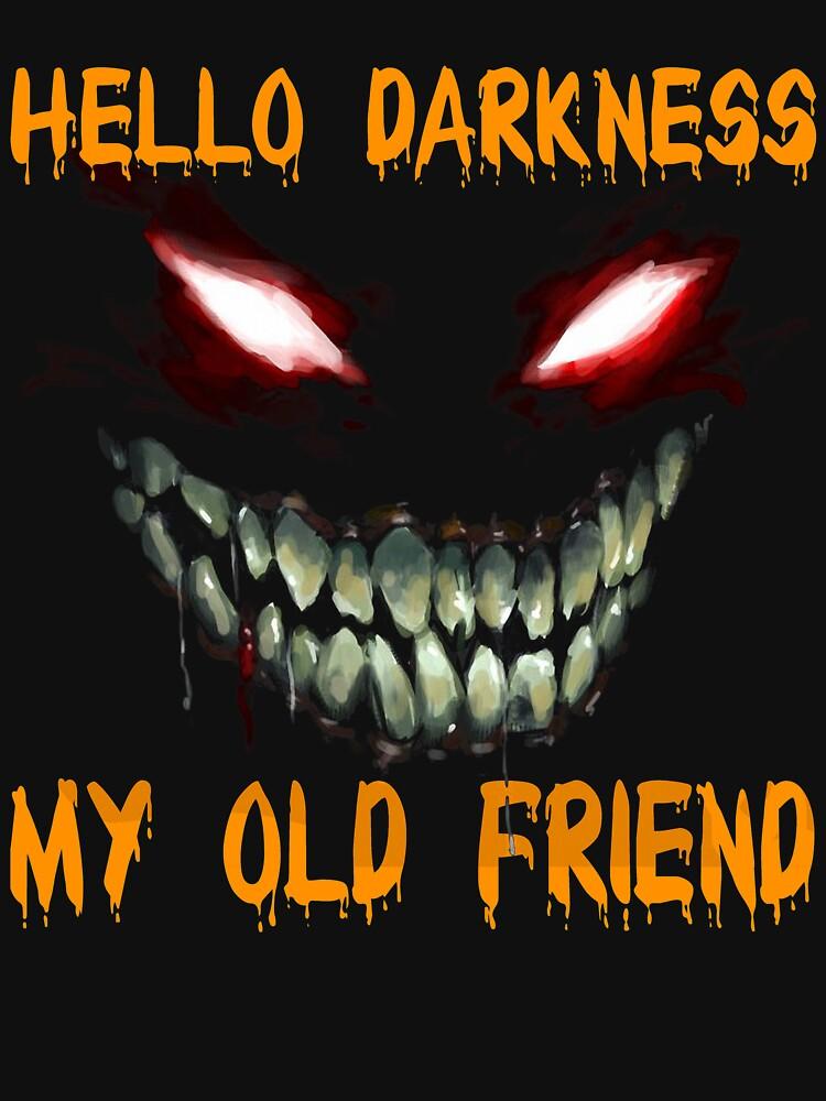 hello darkness my old friend shirt lightweight sweatshirt by