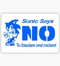 Sonic Says No! Sticker