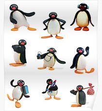 Pingu mood Poster