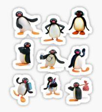 Pingu mood Sticker