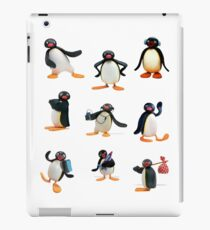 Pingu mood iPad Case/Skin