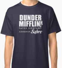 Dunder Mifflin Paper Company, A Division of Sabre — The Office Classic T-Shirt