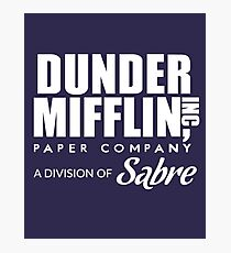 Dunder Mifflin Paper Company, A Division of Sabre — The Office Photographic Print